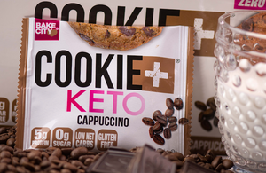 Cookie+ Keto Cappuccino - Cookie+ Protein