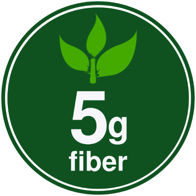 5g Fiber in Cookie+ Protein