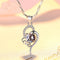 REAL SOLID SILVER 925 Classic Sterling Silver Necklace & Pendant Accent-052