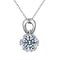 REAL SOLID SILVER 925 Classic Sterling Silver Necklace & Pendant Accent-086