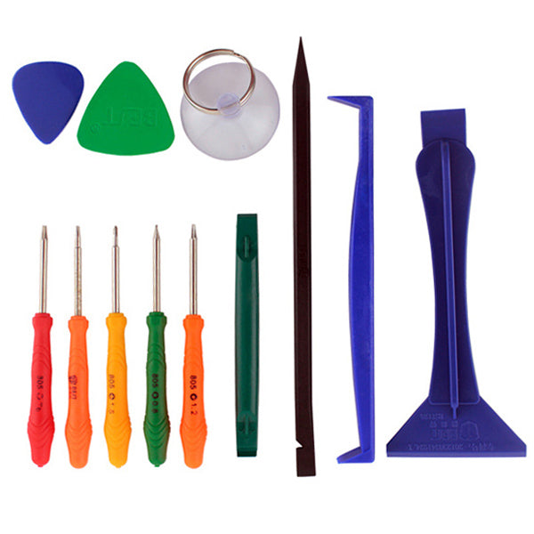 12 pcs Universal Repair Tool Kit Mobile Phone iPad Camera Repairing Tools