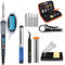 SET Electric Soldering 60W Welding Iron Gun temp Controlled,Tool Kit