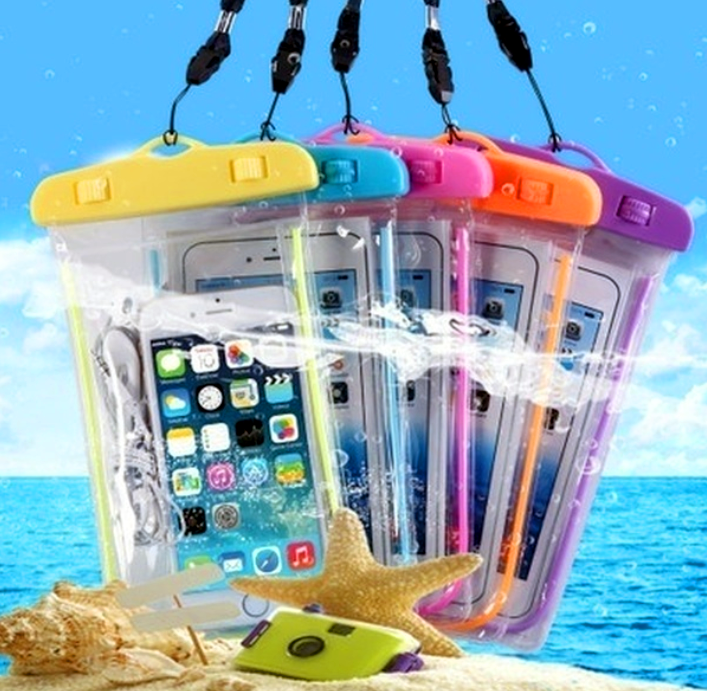 Waterproof Phone Holder BAG with LANYARD for Smartphone