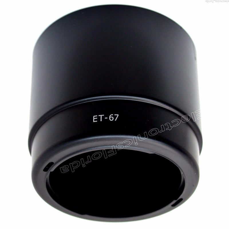 Camera Lens Hood ET-67 For Canon EF 100mm f/2.8 Macro USM e184