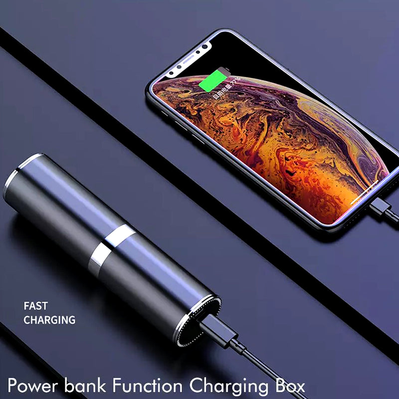 Wireless Earbuds Bluetooth Headphones With Charging Box & Power Bank