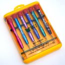 6pcs precision screwdriver set with aluminium alloy handle