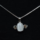 REAL SOLID SILVER 925 Classic Sterling Silver Necklace & Pendant Accent-012