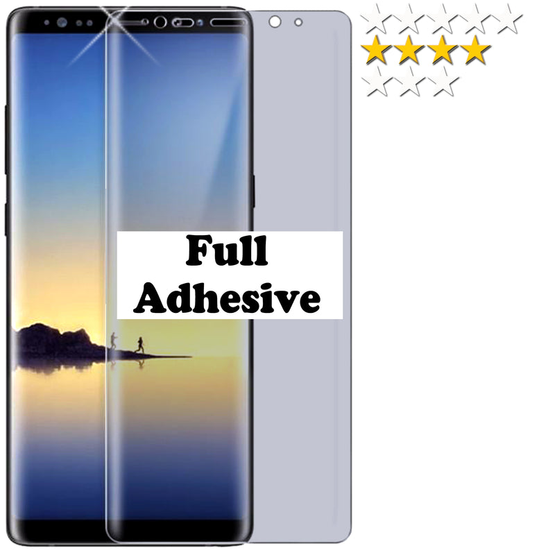 """FULL GLUE"" Tempered Screen Protector For Samsung galaxy phones"