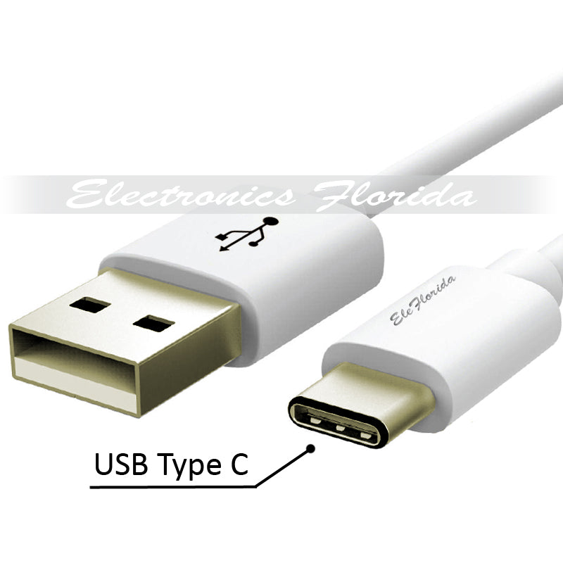 USB Type C (Conventional) (1ft/3ft/6ft/10ft) PVC (USB Type-C to USB-A) Cable