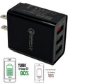 Fast Charge ( 3 Ports ) CAR charge (18W / 5,9,12V / 4A) - Black
