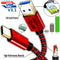 Super Speed USB 3.1 (Type-C to USB) Data & Sync Charger Charging Cable Cord (RED)