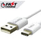 (FAST Charging)  (3ft) PVC (USB Type-C to USB-A) Cable