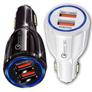 Fast Charge ( 2 USB Ports )  Car Charger (16W / 5,9,12V / 3.1A)
