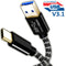Super Speed USB 3.1 (Type-C to USB) Data & Sync Charger Charging Cable Cord (Black)