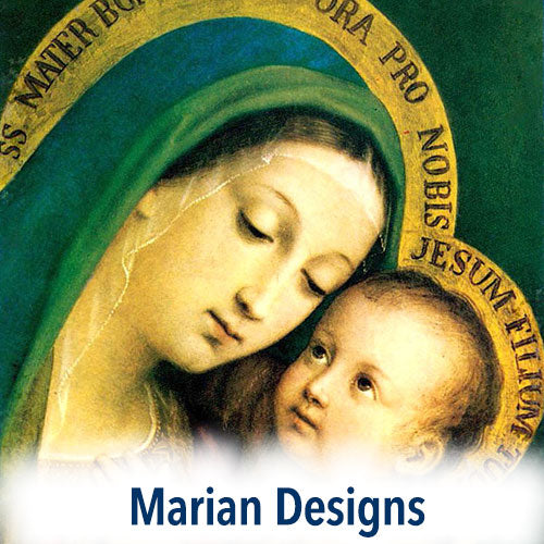 Our Lady of Grace is featured in Prayer Pillowcase Marian Designs