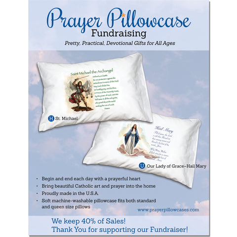 Pre-Sale Fundraisers with Prayer Pillowcases