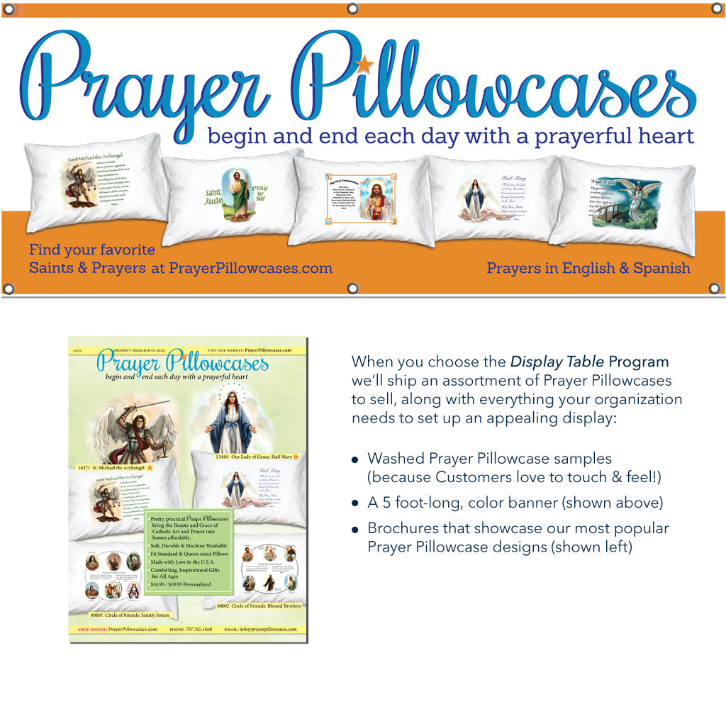 Prayer Pillowcase Direct Sales Fundraisers
