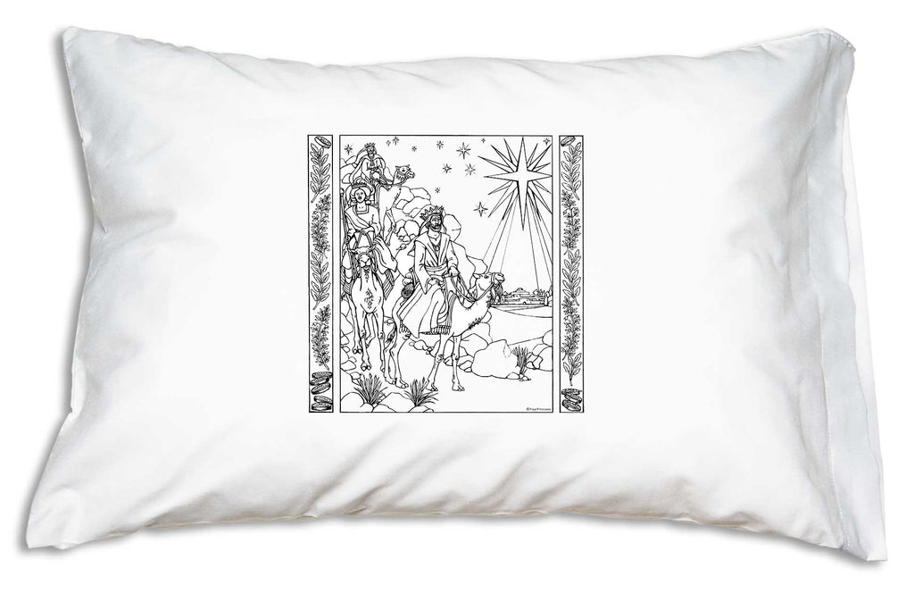 The Magi Color Me Pillowcase provides a rewarding activity and a wonderful end product for the Christmas season!