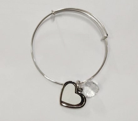 Sublimation Heart Bracelet