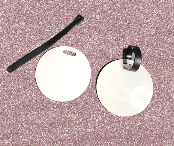Sublimation Wholesale Round Stroller Tags