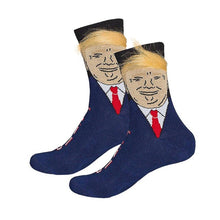 Load image into Gallery viewer, President Donald Trump Unisex Socks with 3D Fake Hair