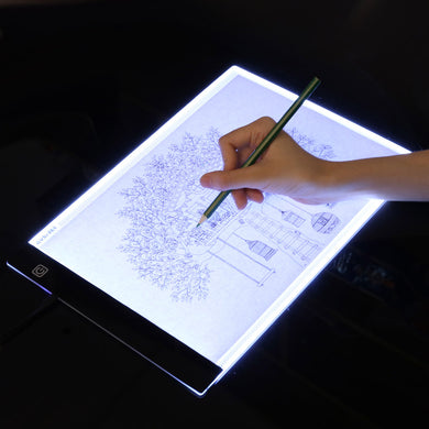 A4 LED Graphic Drawing Board Light Box Tracing Table Pad