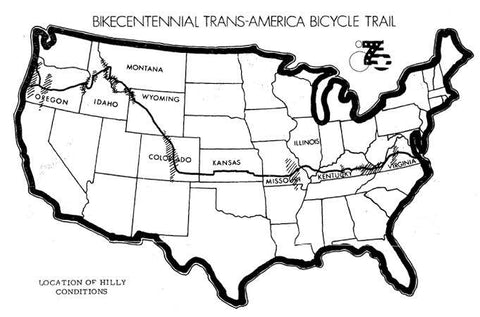 trans america bike race route