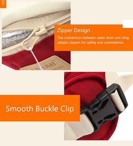 hip seat carrier features