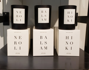 Brooklyn Noir Collection Candle Neroli Balsam Hinoki
