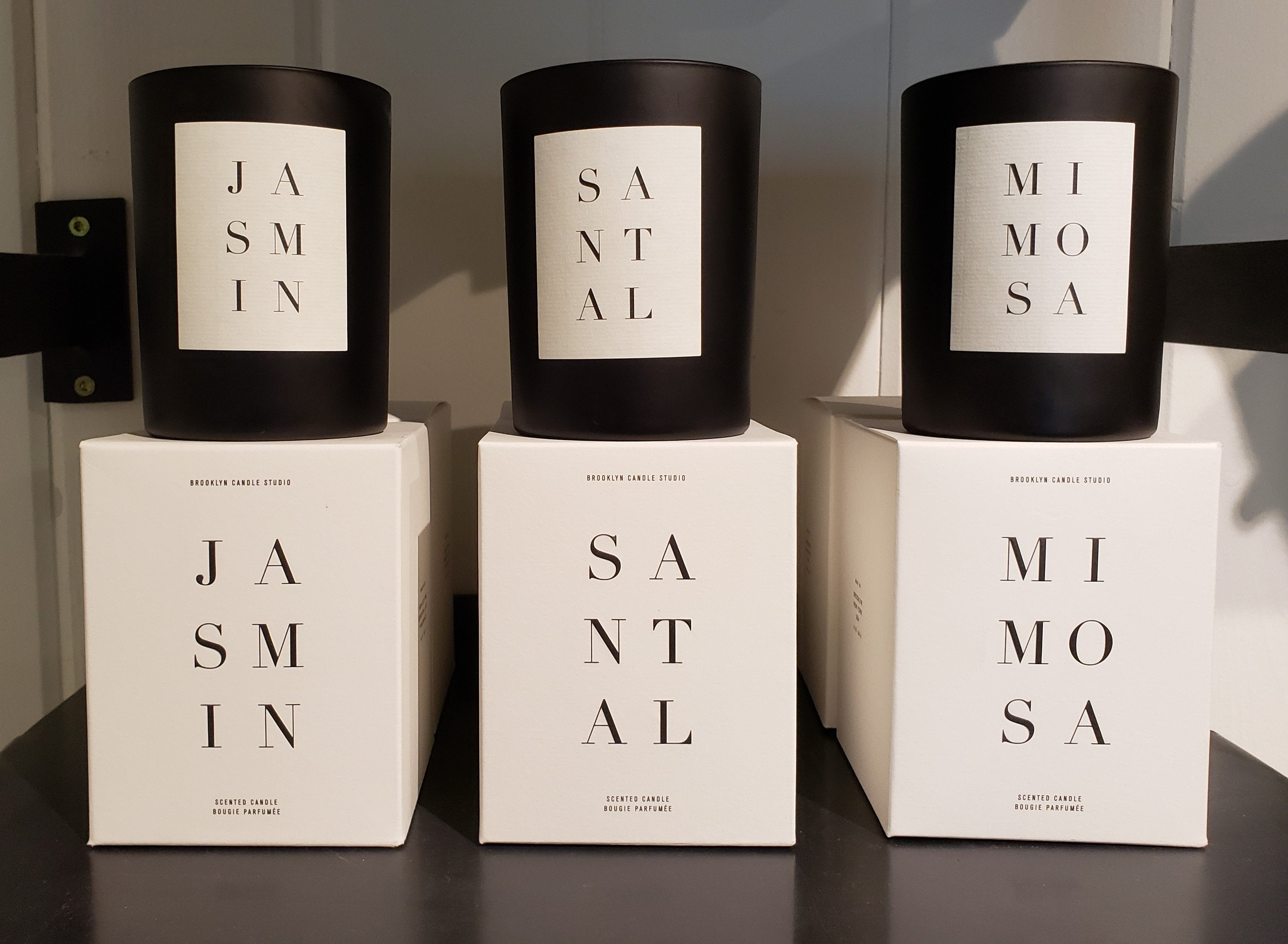 Brooklyn Noir Collection Candle Jasmin Santal Mimosa