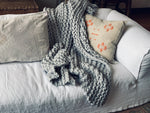 Finn Hand Knit Throw