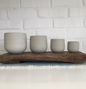 Ceramic Pottery Set of 4