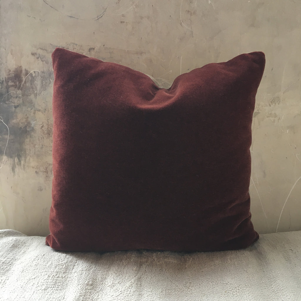Mohair Pillow 22x22