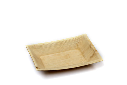 12cm x 17cm Rectangular Palm Leaf Plate