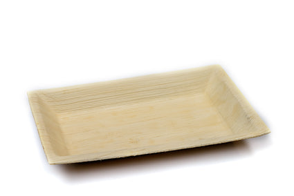 16cm x 24cm Rectangular Palm Leaf Plate