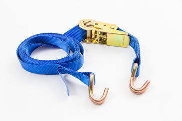 25mm Ratchet strap with claw hooks