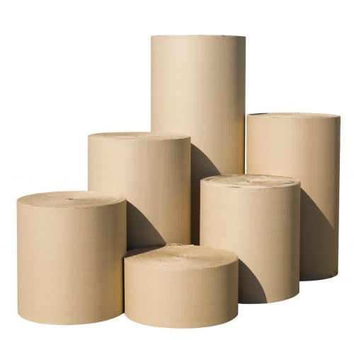 corrugated paper reels