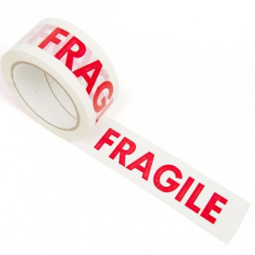 printed tape - fragile