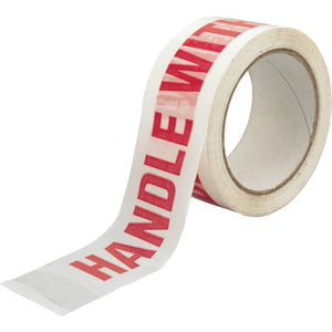 printed tape - handle with care