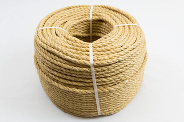 12mm polyhemp rope coil
