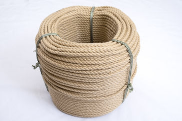 8mm Polyhemp rope coil