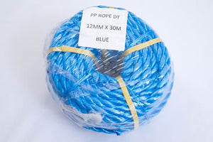 12mm polypropylene rope mini-coil 30m