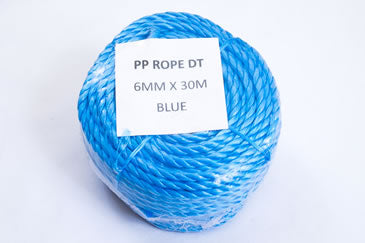 6mm polypropylene rope mini-coil 30m