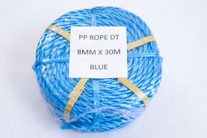 8mm polypropylene rope mini-coil 30m