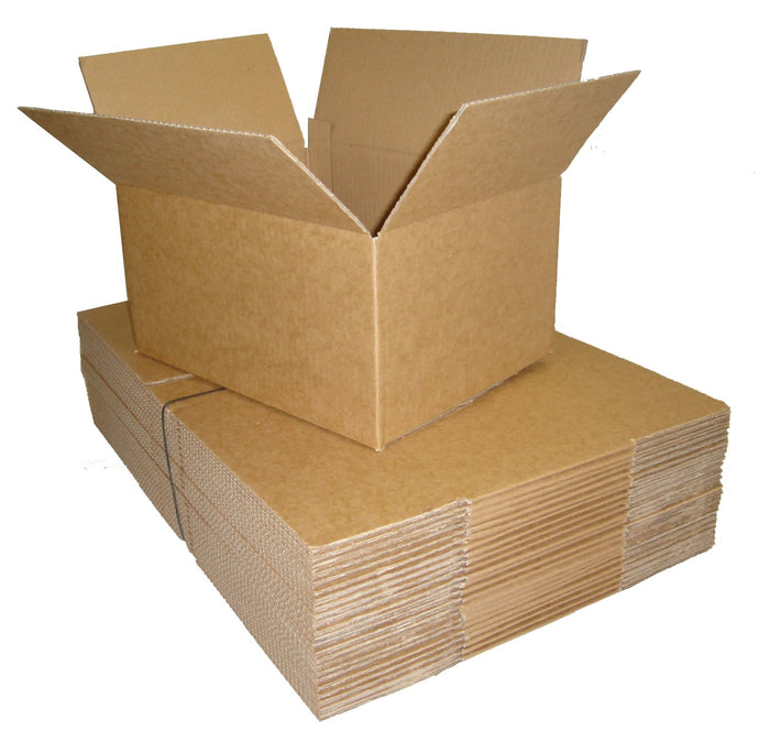 A4 medium single walled corrugated carton