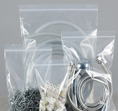 plain grip seal bags - plain gripper bags
