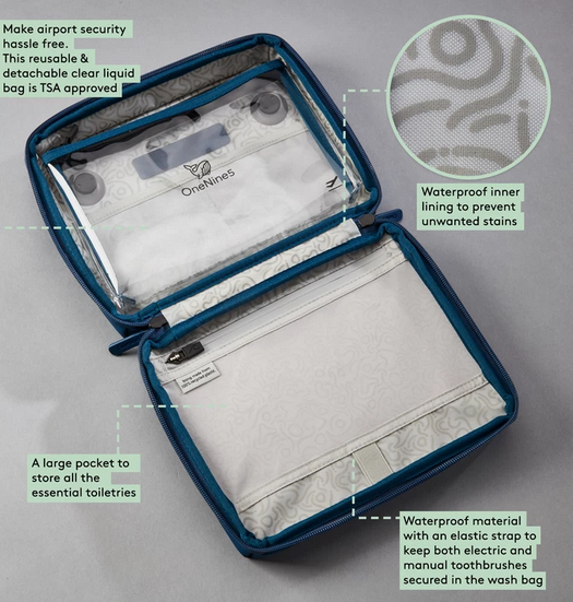 OneNine5 BIODEGRADABLE TRAVEL CASE