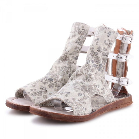 A.S. 98 GLADIATOR SANDAL PEBBLE PRINT