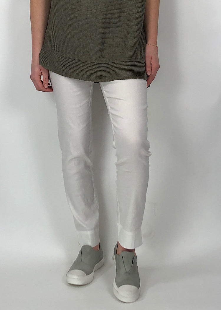 CREA CONCEPT STRETCH LINEN TROUSER