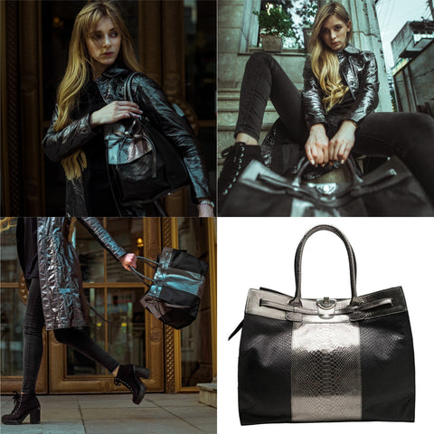 Anna Leather Tote - NOTTEVERA